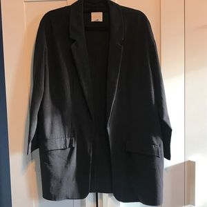 Urban Outfitters Long Black Blazer